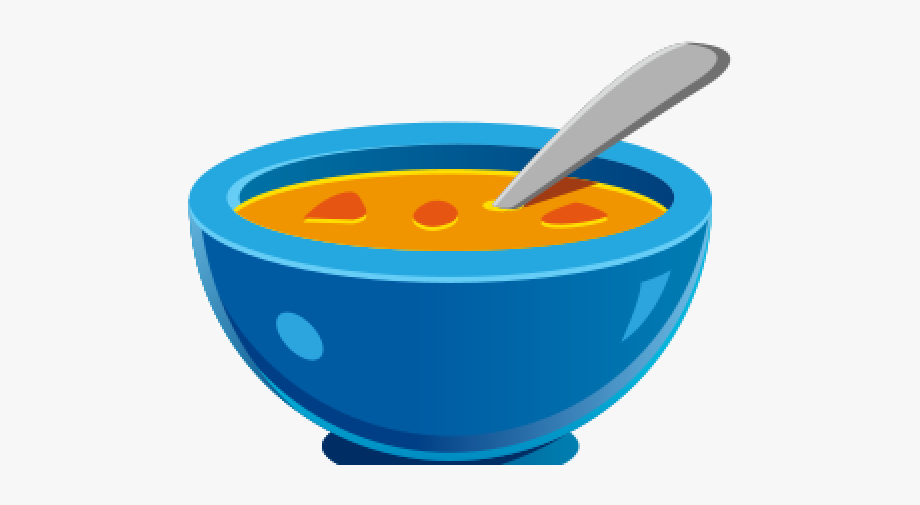 Soup Clipart Spoon Bowl.