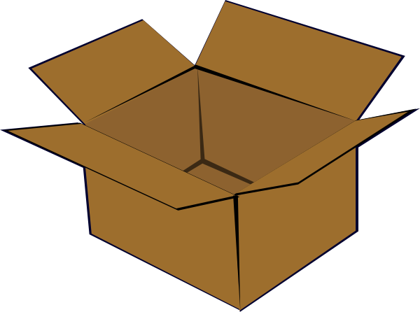 Cardboard Box Clip Art at Clker.com.