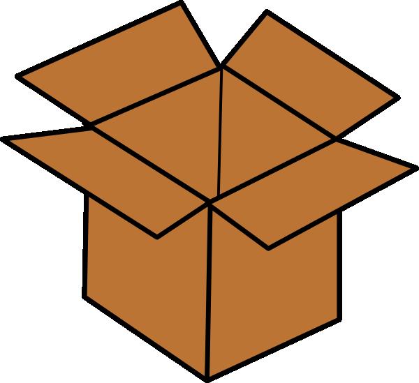 Brown Box Clip Art at Clker.com.