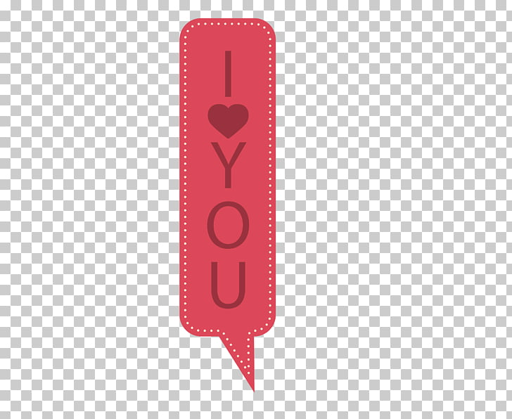 Red Pattern, Flat I love you back to the box PNG clipart.