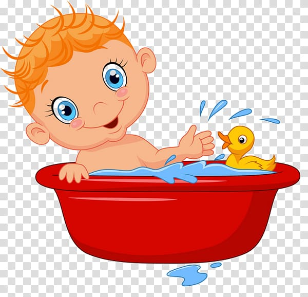 Bathing Bathtub Bathroom, Boy Bath transparent background.