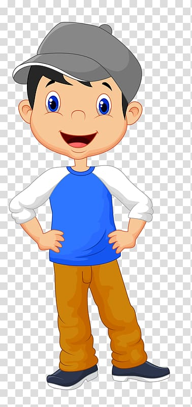 Boy Cartoon transparent background PNG cliparts free.