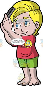 Comb clipart boy brush hair, Comb boy brush hair Transparent.