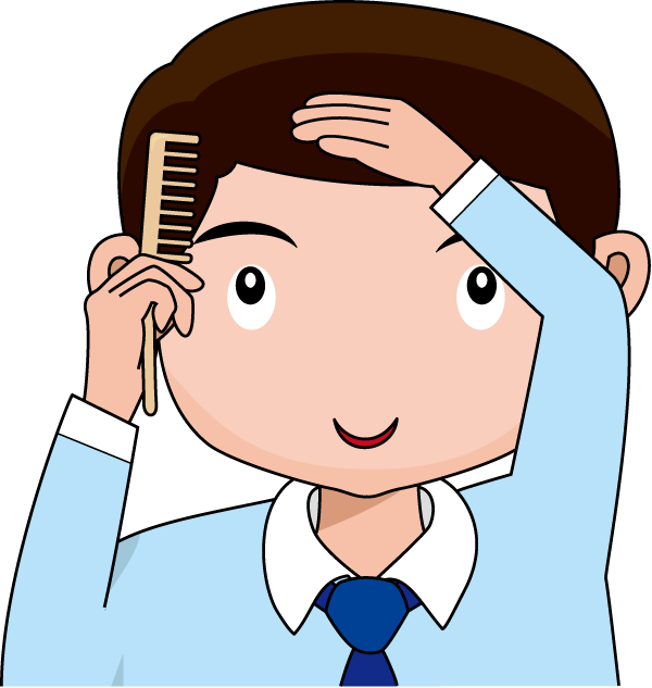 To Comb Clipart.