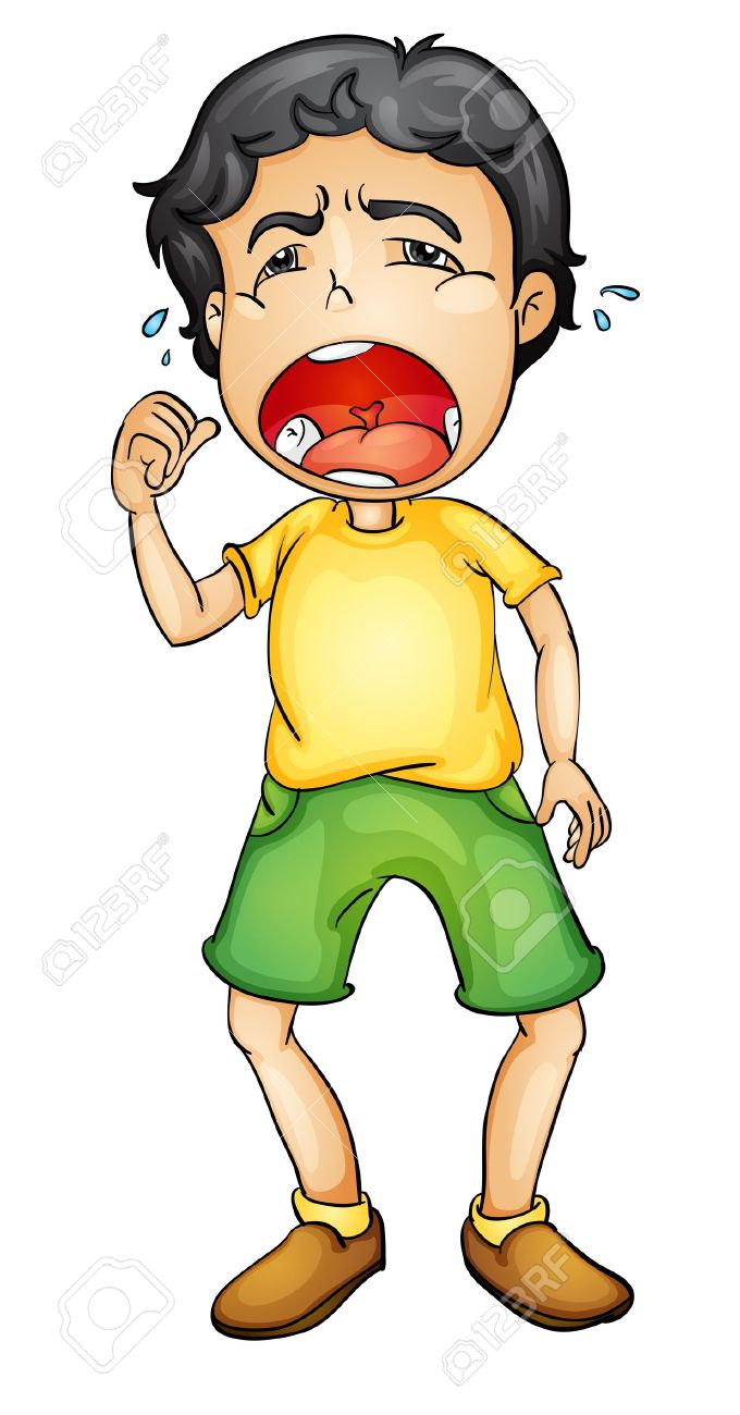 Boy crying clipart 4 » Clipart Station.