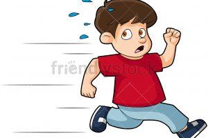 Boy running clipart 4 » Clipart Station.