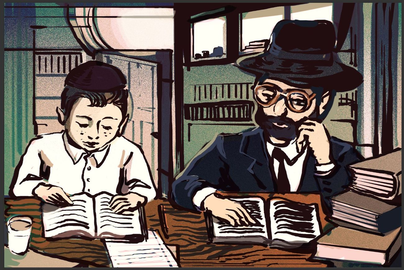 Yankel and Leah (Chapter 3): Learning Torah is Easier Than.