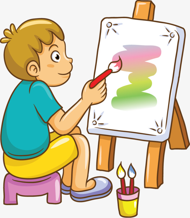 Boys clipart painting, Boys painting Transparent FREE for.