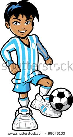 Football Cartoon Stock Images, Royalty.
