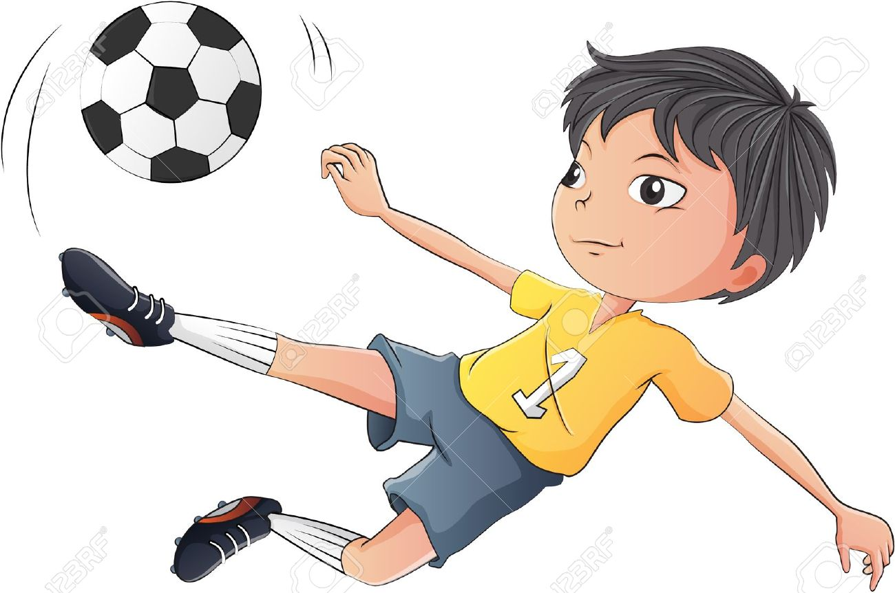 1,027 Kids Playing Football Stock Illustrations, Cliparts And.