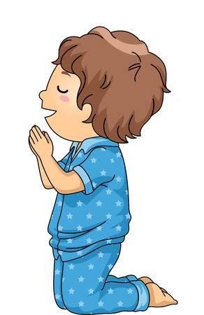 Boy praying clipart » Clipart Station.