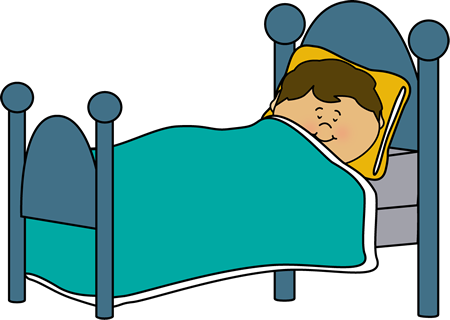 Boy Sleeping Clip Art.
