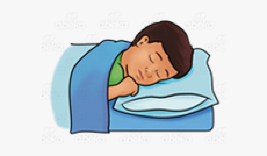 Sleep Clipart Kid.