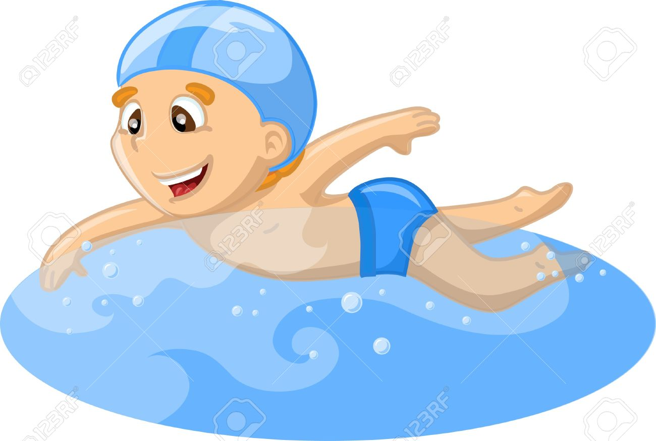 Boy swimming clipart 4 » Clipart Station.