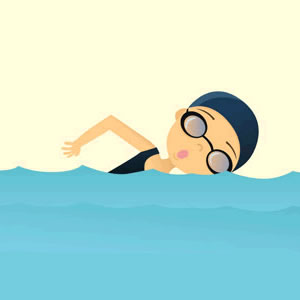 Boy swimmer free clipart kid 2.