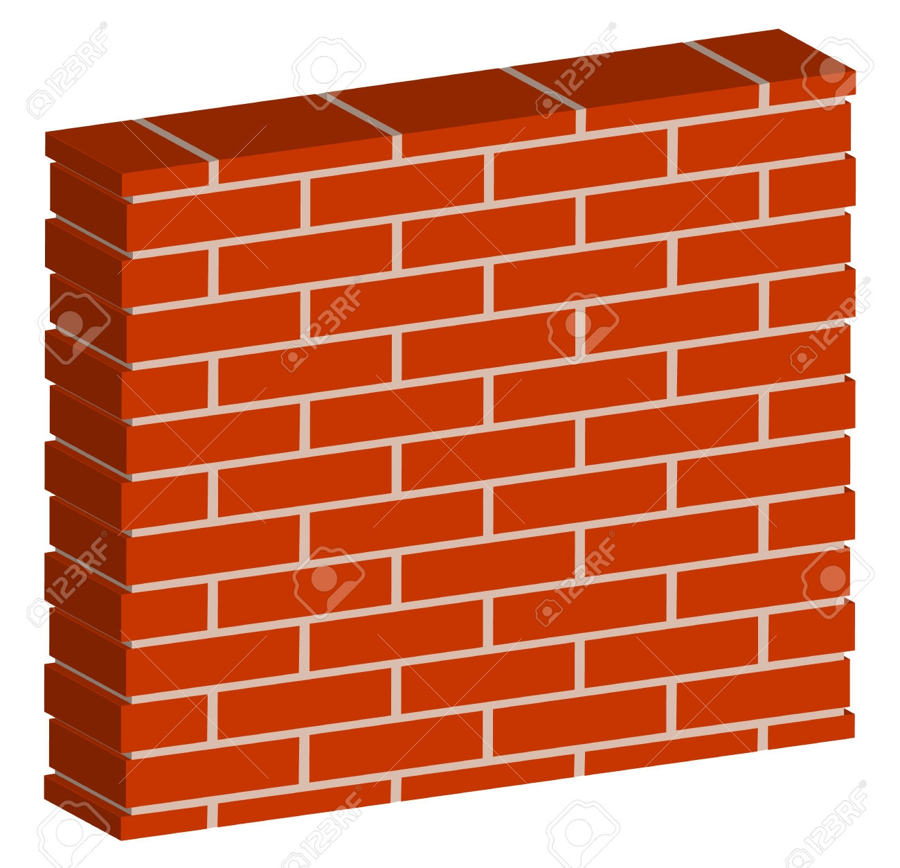 Building Brick Wall Clipart.