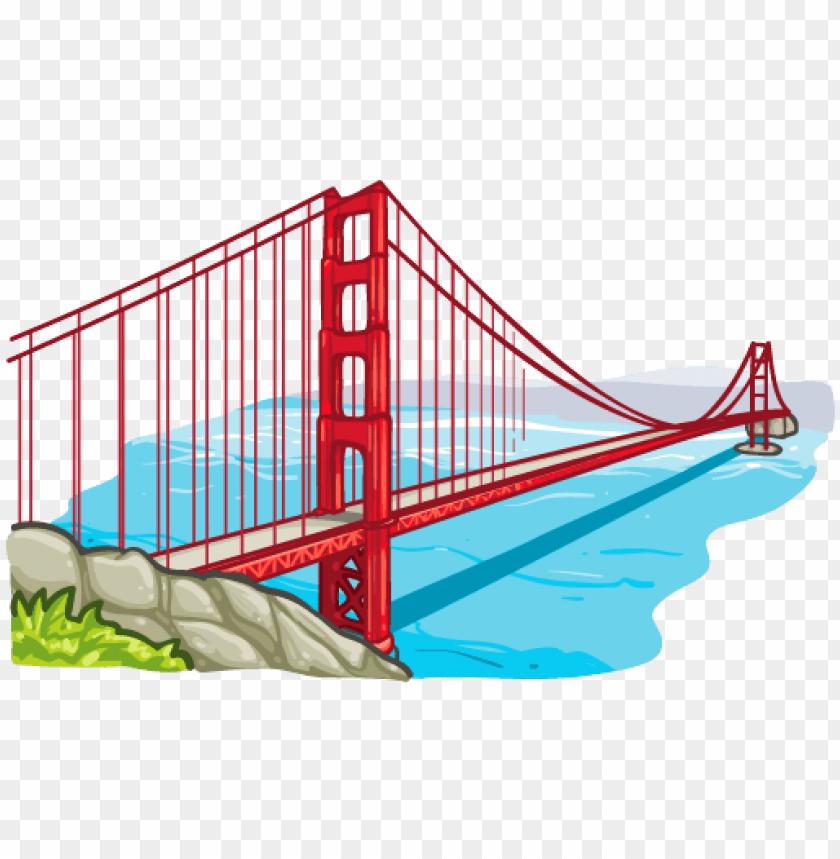 Bridge clipart long bridge, Bridge long bridge Transparent.