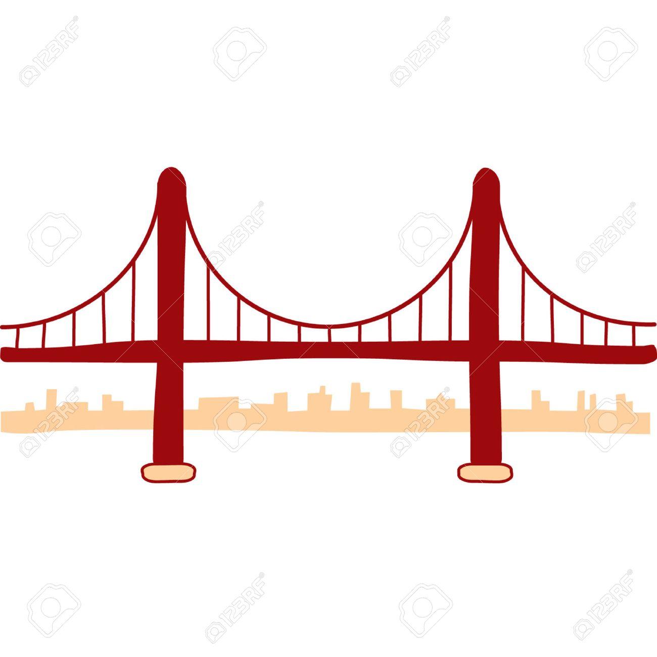 3454 Bridge free clipart.
