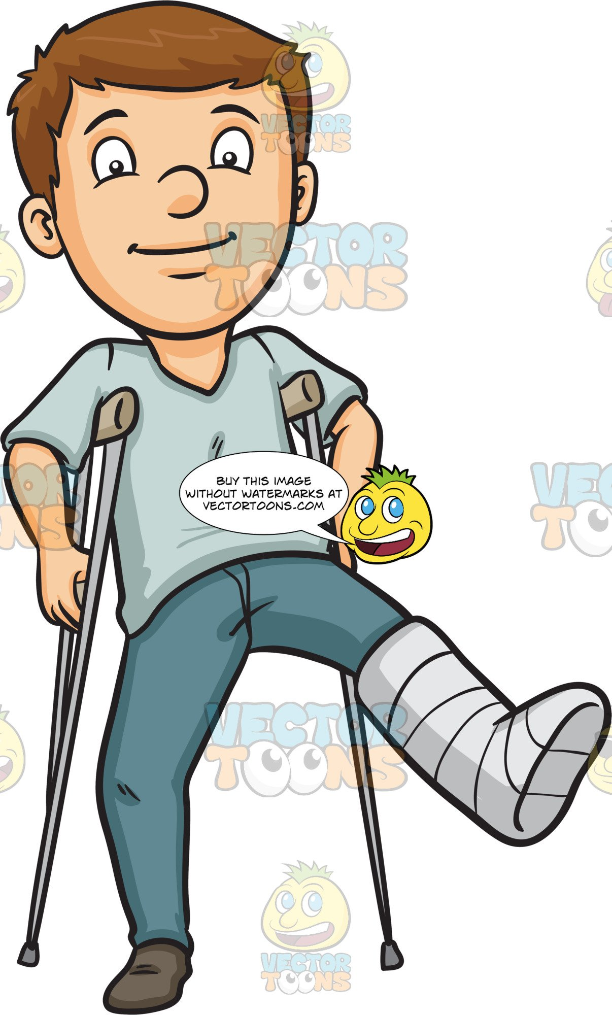 Broken Leg Clipart Group (+), HD Clipart.