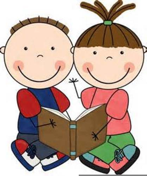 Reading Buddy Clipart.