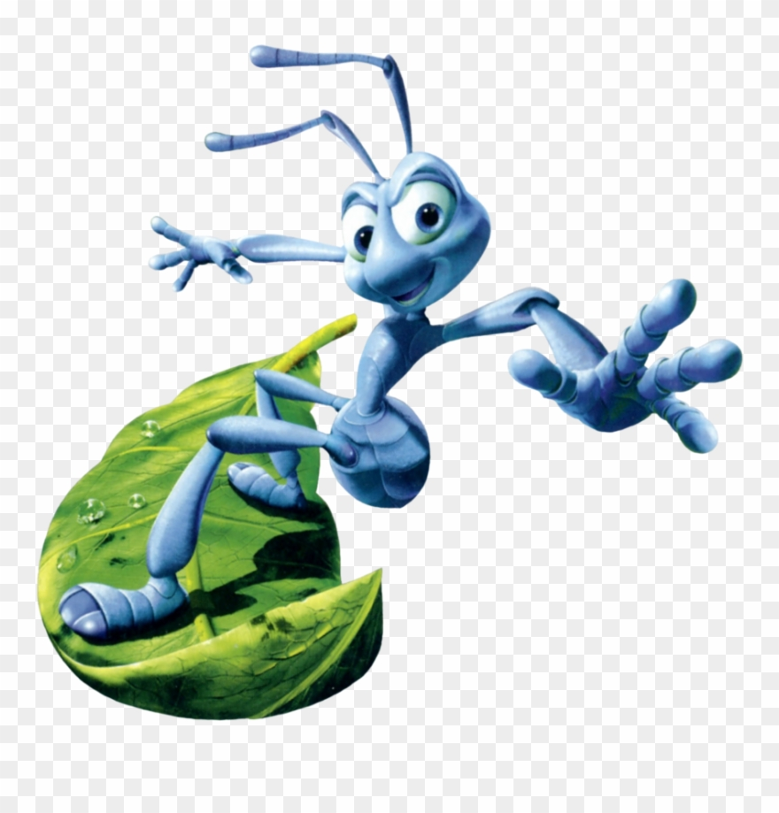 A Bug's Life Flik's Journey Cover Art By Paperbandicoot.