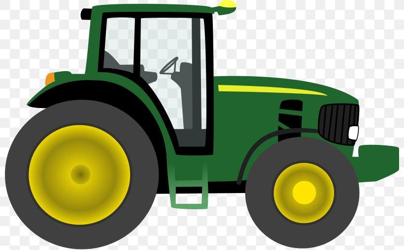 John Deere Clip Art: Transportation Tractor Free Content.