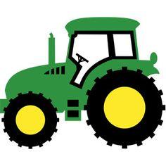 60 John Deere Tractor free clipart.