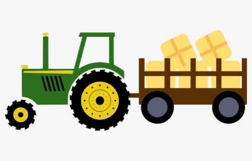 Free John Deere Tractor Clip Art with No Background.