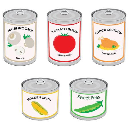 Can Food Clipart 17.