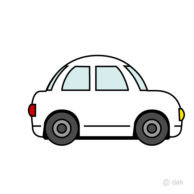 Free Cute Car Clipart Image|Illustoon.