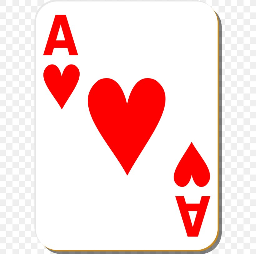Playing Card King Ace Of Hearts Clip Art, PNG, 600x815px.