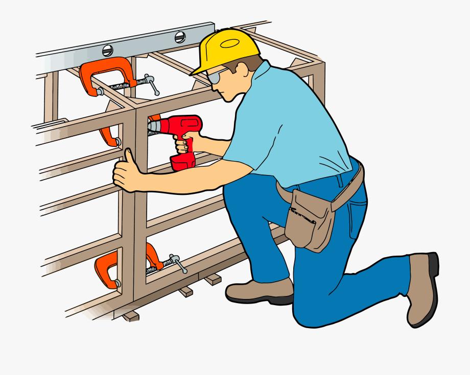 Carpenter Cabinet Work Clipart Png.