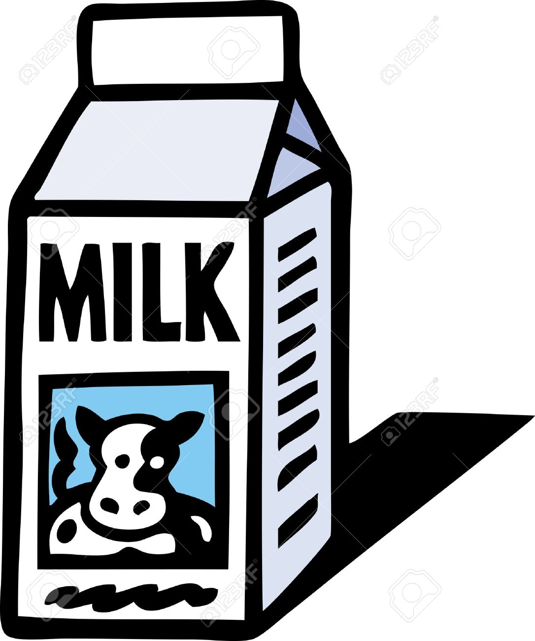 Carton Of Milk Clipart.