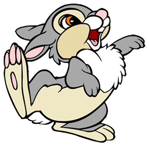Cartoon Bunny Rabbit Clipart.
