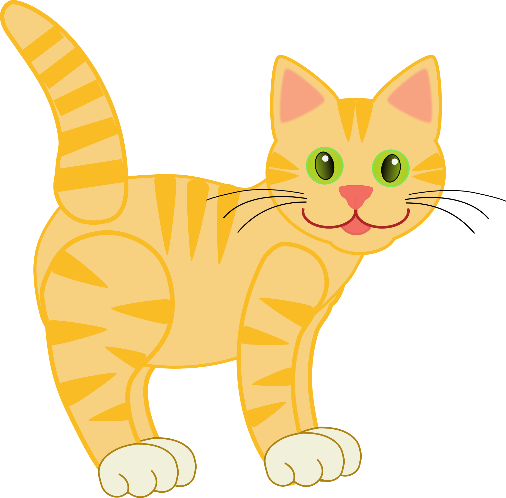 Cat clipart free images.
