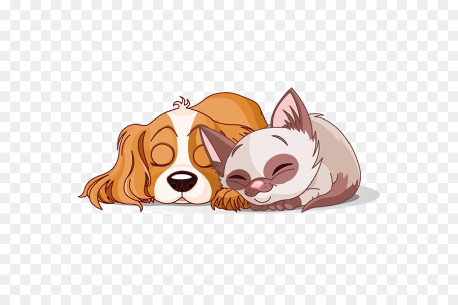 Cat And Dog Cartoon clipart.