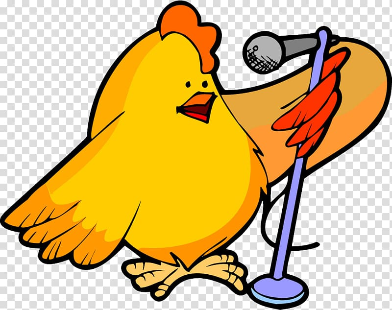 a chicken telling fortunes clipart #10
