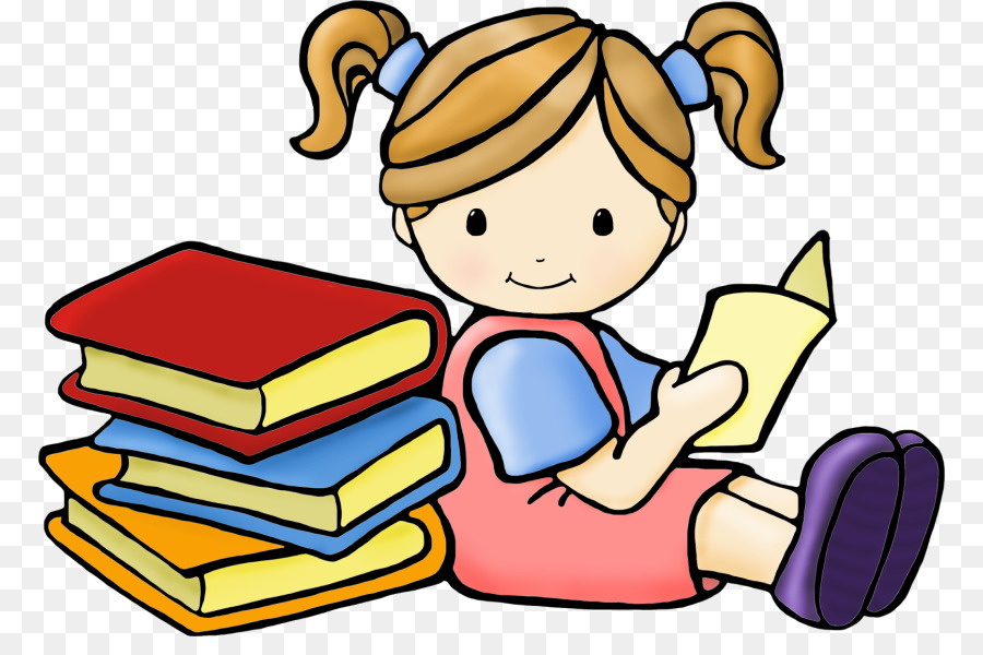 Child reading a book clipart 7 » Clipart Station.