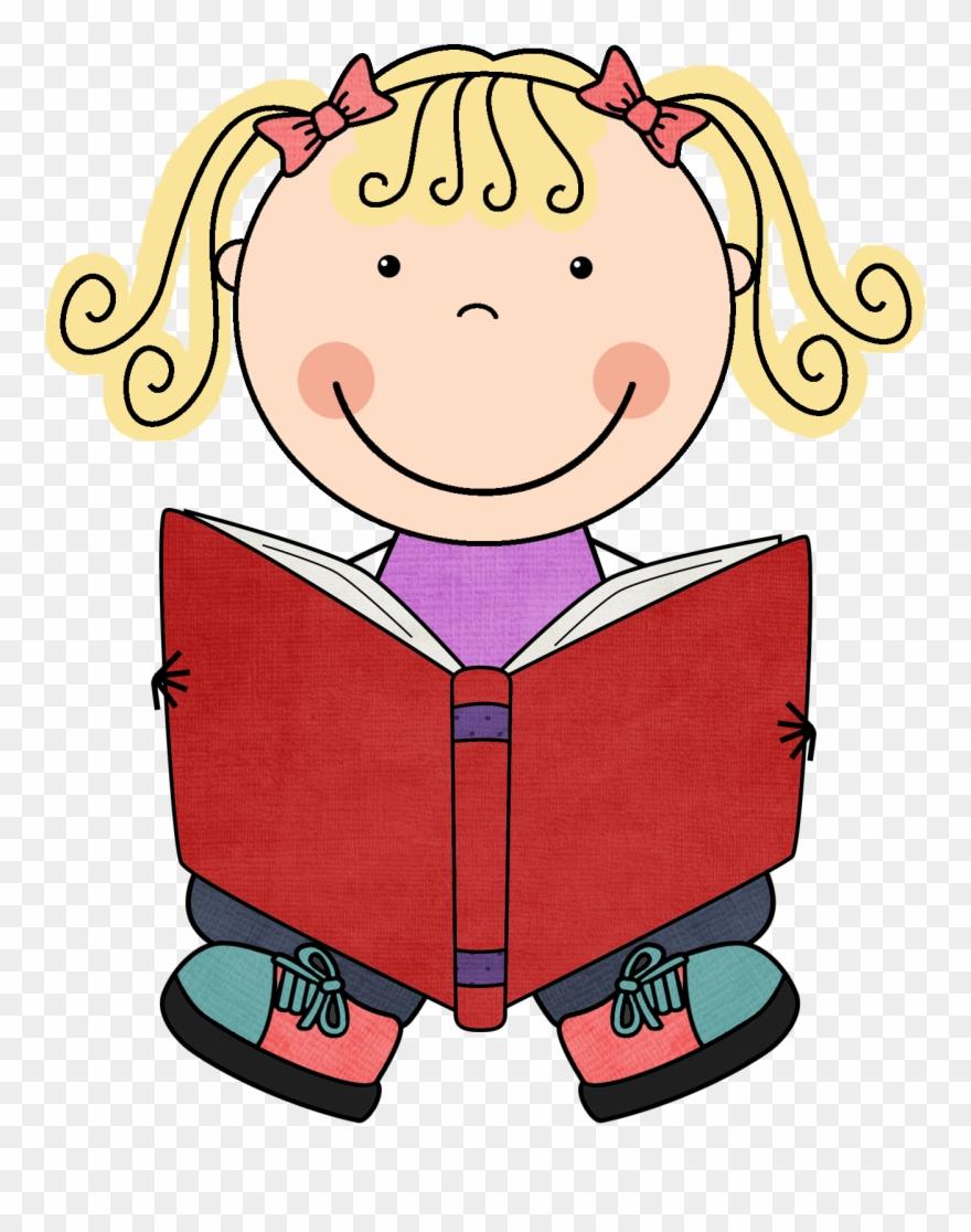 Clipart Child Book.
