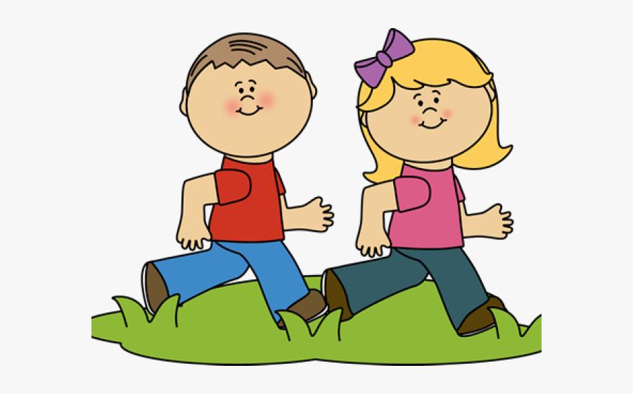 Kids Running Clipart , Free Transparent Clipart.
