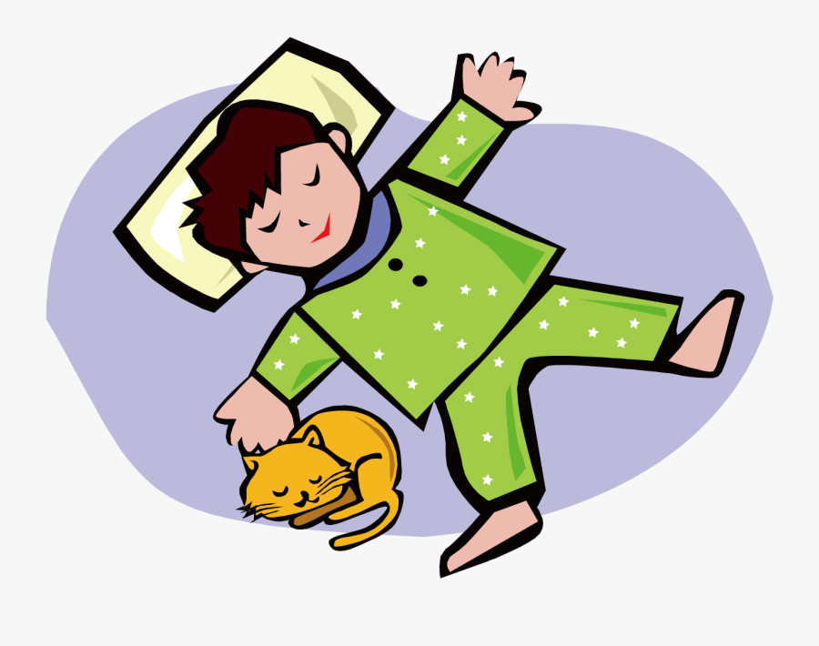 Child Sleep Clip Art.