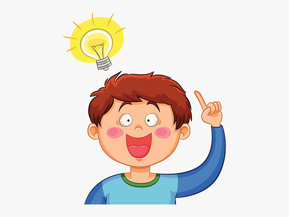 Thinking Kids Clipart Transparent Png.