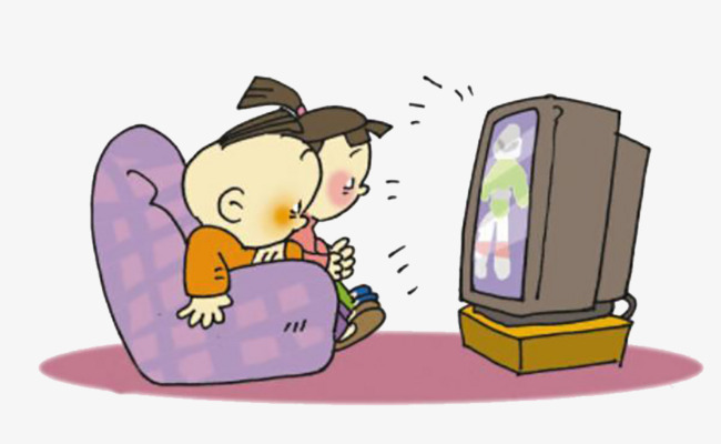 Child watching tv clipart 6 » Clipart Station.