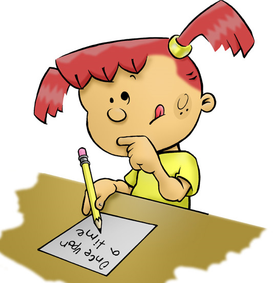 Free Pictures Of Children Writing Clipart, Download Free.