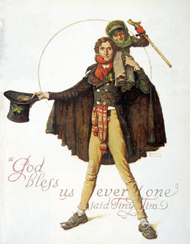 Dickens A Christmas Carol Color Clipart.