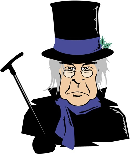 Scrooge Clipart.