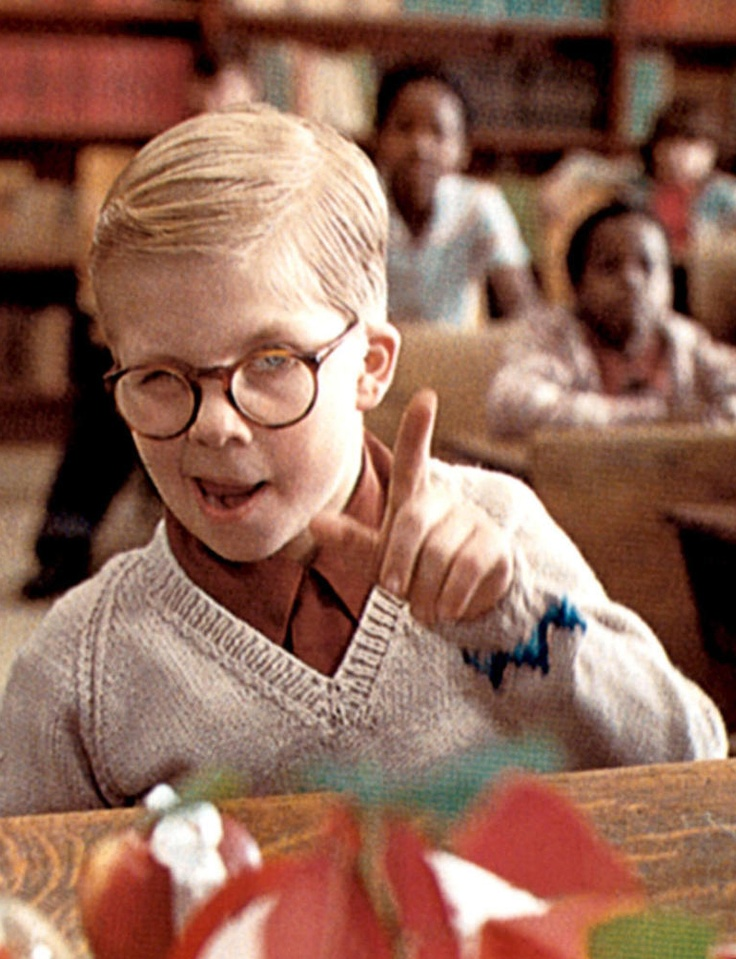 Ralphie Christmas Story Glasses