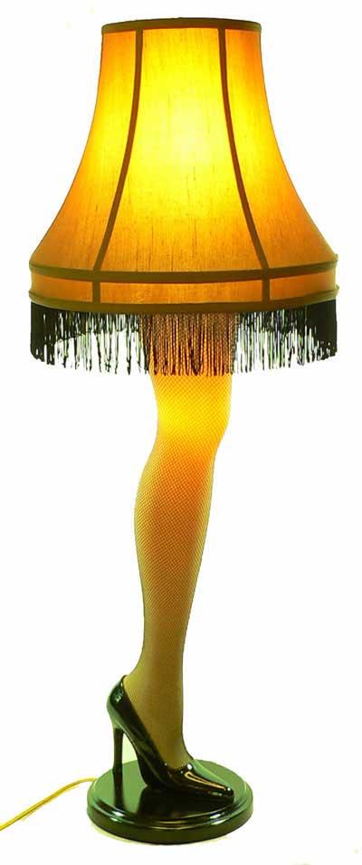 The Leg Lamp.