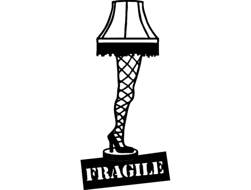 Leg Lamp Silhouette at GetDrawings.com.