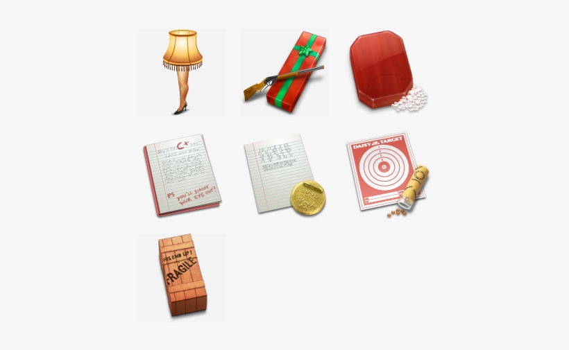 A Christmas Story Icon Pack By Anthony Piraino.